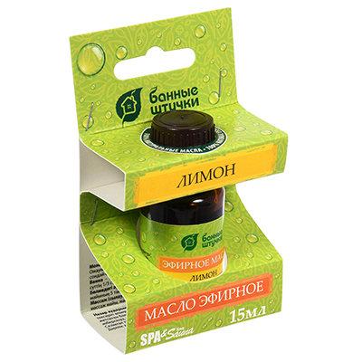 Эфирное масло Банные Штучки Лимон 15 мл 30010