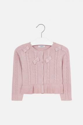 Кардиган для девочки Mayoral, цв.розовый, р-р 104