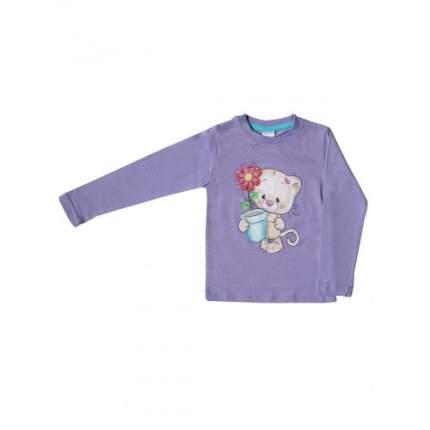 Джемпер для девочек Bella veza, цв. фиолетовый, р-р 86