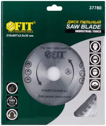 Пильный диск для циркулярных пил по ламинату FIT 37780
