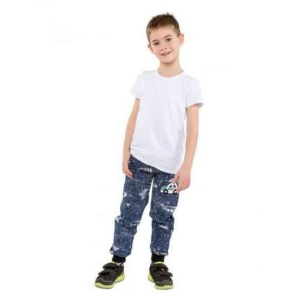 Брюки для мальчиков Ciggo, цв. синий, р-р 104