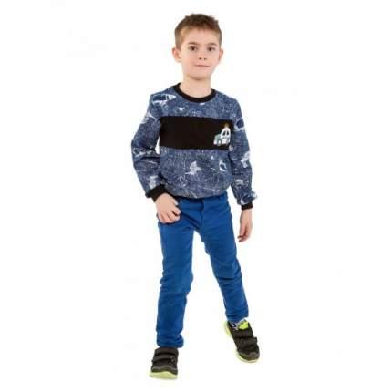 Джемпер для мальчиков Ciggo, цв. синий, р-р 110
