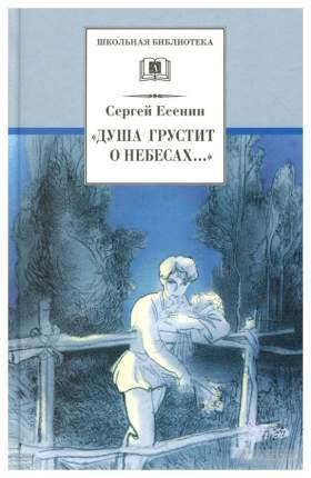 Книга Детская литература Школьная библиотека. Душа грустит о небесах...