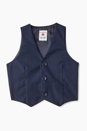 Жилет для мальчика Button Blue, цв.синий, р-р 170