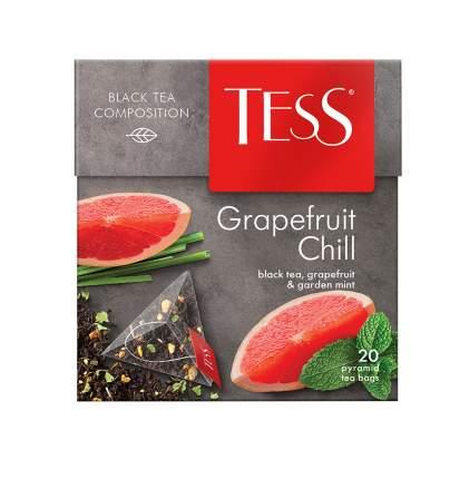 Чай черный в пирамидках Tess Grapefruit Chill 20 пакетиков