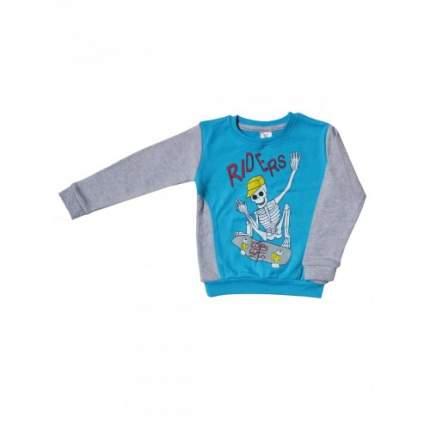 Джемпер для мальчиков LELO, цв. голубой; зеленый, р-р 110