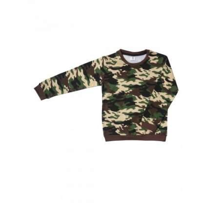 Джемпер для мальчиков LELO, цв. коричневый, р-р 128
