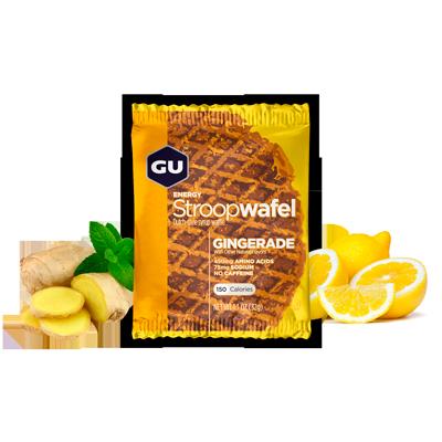 Вафли GU ENERGY STROOPWAFEL, имбирный лимонад
