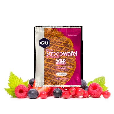 Вафли GU ENERGY STROOPWAFEL, дикие ягоды