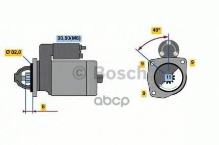 Стартер Bosch 0001148003