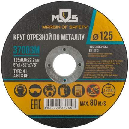 Круг отрезной по металлу MOS 37003М