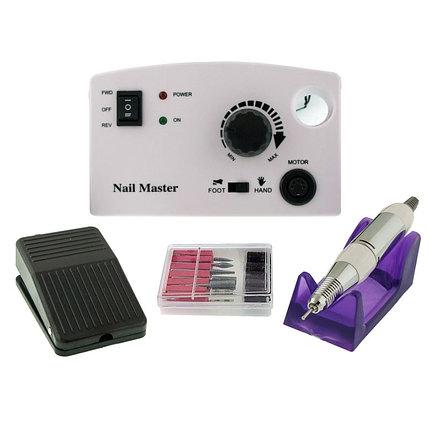 Маникюрный аппарат Nail Master (Nail Drill) ZS-602 35000 об. белый, 45W