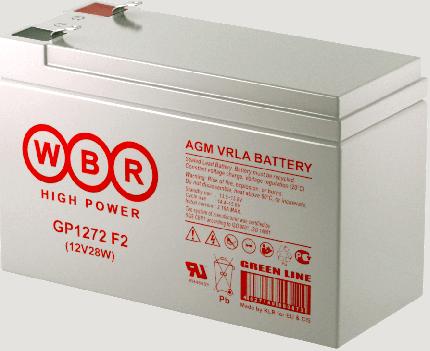 Аккумулятор для ИБП WBR GP1272F2
