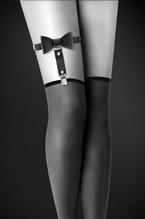 Гартер Plaisir Secret Bijoux Pour Toi с бантиком черный