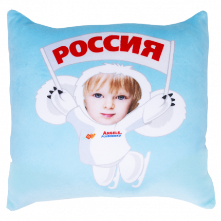 Игрушка-подушка Чебусашка LVY019
