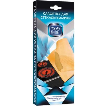 Чистящее средство для плит Top House салфетка для стеклокерамики