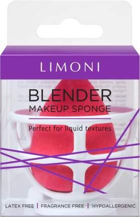 Спонж для макияжа с корзинкой Limoni Blender Makeup Sponge Red