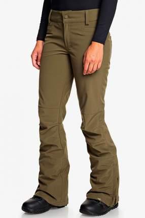 Сноубордические штаны Creek Roxy, зеленый, S