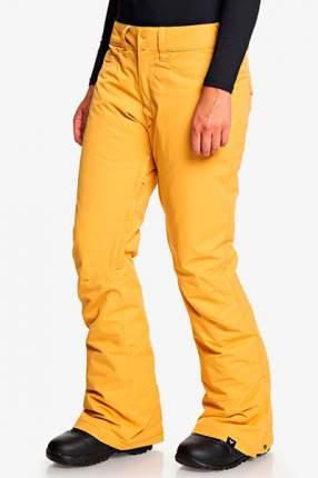 Сноубордические штаны Backyard Roxy, желтый, XS