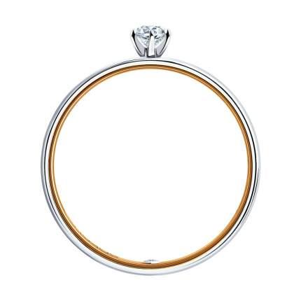 Кольцо женское SOKOLOV из золота с бриллиантами 1014048-01 р.15.5