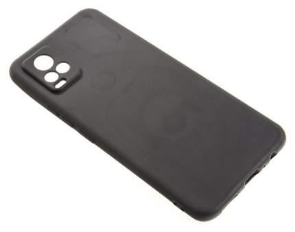 Силиконовый чехол TPU Case матовый Vivo V20 черный
