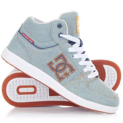 Женские кеды University Plus TX SE DC Shoes, голубой, 6 US