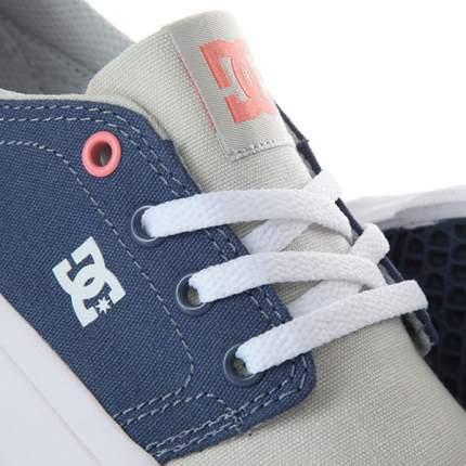 Женские кеды Trase TX DC Shoes, серый, 6 US