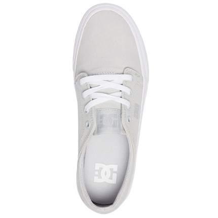 Женские кеды Trase TX DC Shoes, серый, 8 US