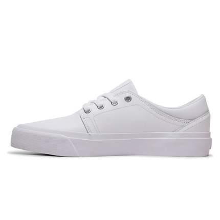 Женские замшевые кеды Trase DC Shoes, белый, 6,5 US