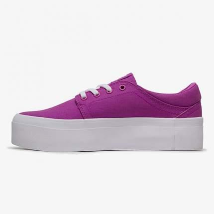 Женские кеды Women's Trase Platform TX DC Shoes, пурпурный, 6,5 US