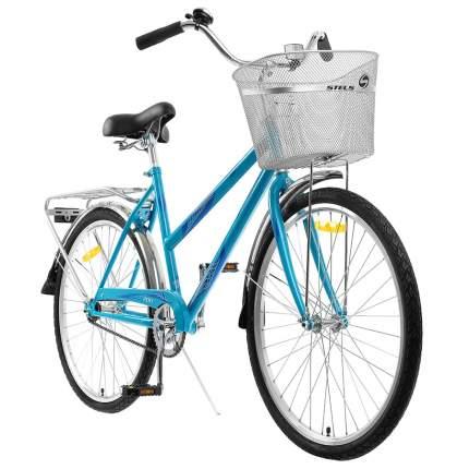 """Велосипед Stels Navigator 26"""" 200 Lady Z010 Бирюзовый (с корзиной) (LU094046) 19"""""""