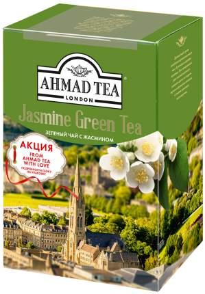 Чай Ahmad Tea байховый зеленый листовой жасмин 100 г