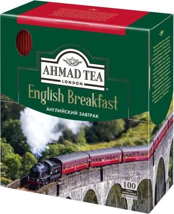 Чай Ахмад английский завтрак черный мелколистовой 100 пакетиков