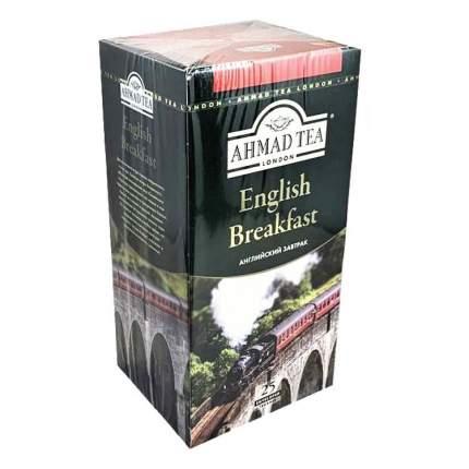 Чай Ahmad Tea английский завтрак черный 25 пакетиков 50 г