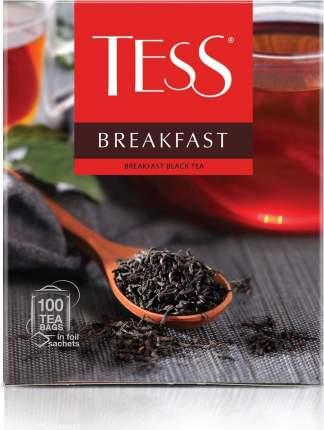 Чай Tess черный брекфаст в пакетиках 100x1.8 г