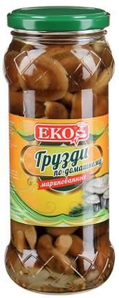 Грибы грузди EKO по-домашнему маринованные целые 530 г