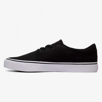 Кеды Trase TX DC Shoes, черный, 10,5 US