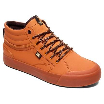 Высокие зимние кеды Evan Smith Hi WNT DC Shoes, коричневый, 12 US