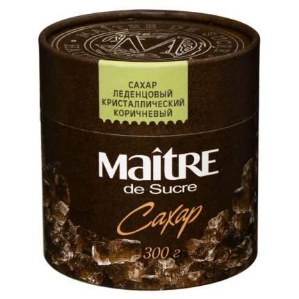 Сахар Maitre леденцовый кристаллический коричневый 350г