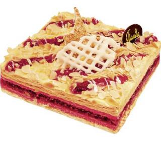 Торт у палыча малиновый комбинированный 900 г пл/уп # компания у палыча россия