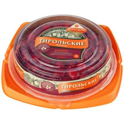 Пирог тирольский клубника 660 г пл/уп круг россия