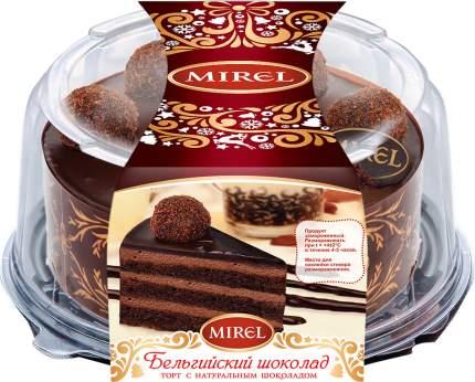 Торт мирель бельгийский шоколад с шоколадом 900 г п/уп # хлебпром россия