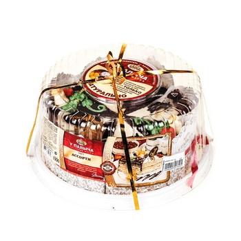 Торт у палыча ассорти 1100 г пл/уп # компания у палыча россия
