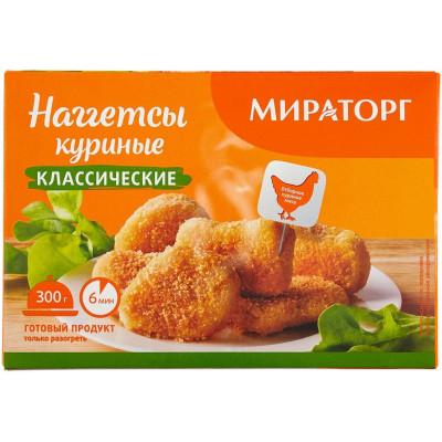 Наггетсы куриные Мираторг классические 300 г