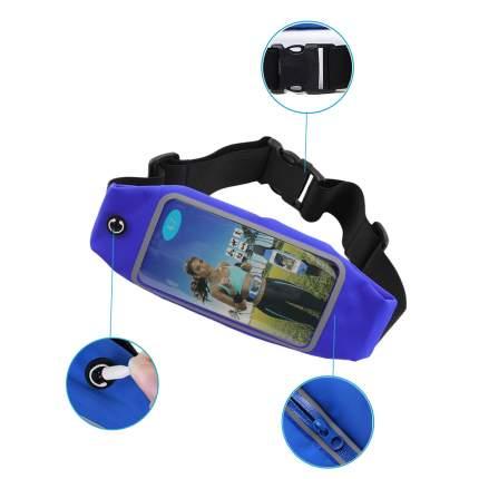 Спортивная сумка пояс для бега и ходьбы с сенсорным экраном Atlanterra AT-RB-05
