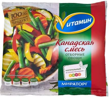 Смесь овощная Мираторг Витамин Канадская 400 г