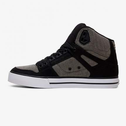Высокие кеды Pure High-Top WC TX DC Shoes, черный, 10 US
