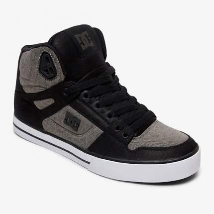 Высокие кеды Pure High-Top WC TX DC Shoes, черный, 9 US
