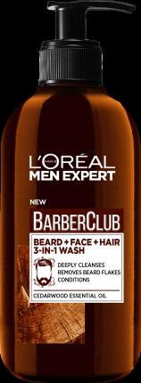 Крем для бороды, волос и лица L'Oreal Barber Club 3 в 1