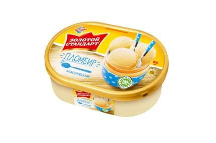 Мороженое Инмарко Золотой стандарт пломбир классический 800 мл